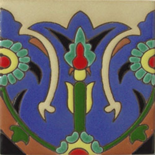 artisan produced relief tiles Gabriel