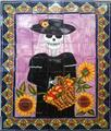 ceramic tile mural The Catrina