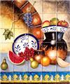 kitchen tile mural Traditional Cuisine