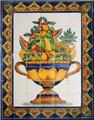 ceramic tile mural Fruit Bowl