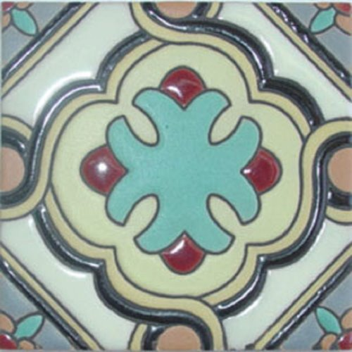 handcrafted relief tile Dania