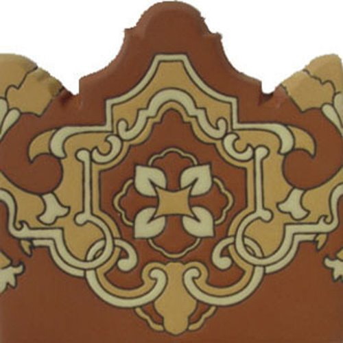 artisan produced relief tiles Esteban