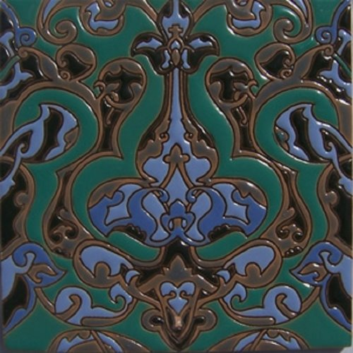 handmade relief tile Catalina