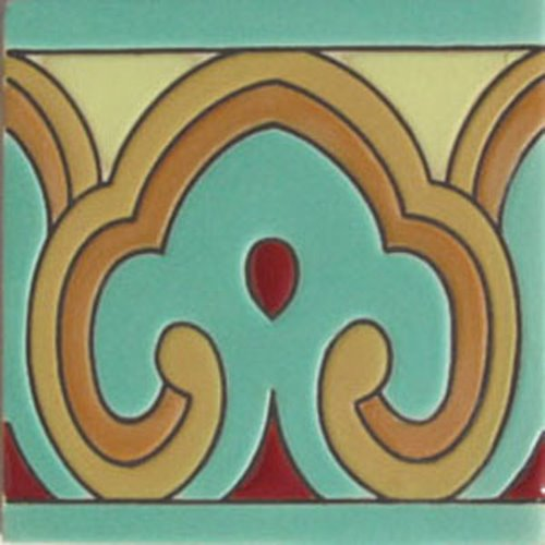 artisan produced relief tiles Marcos