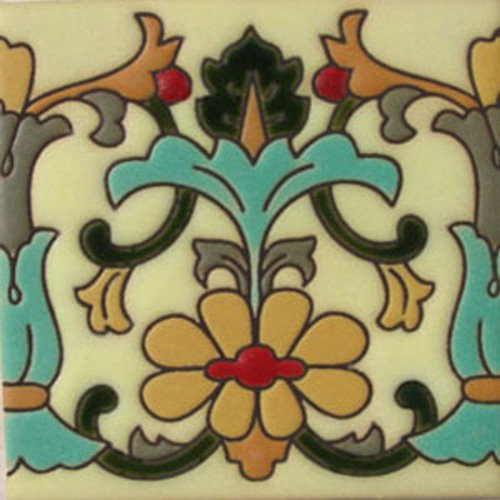 decorative relief tile design