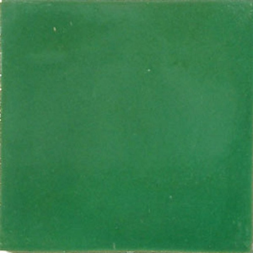 mexican tile solid green