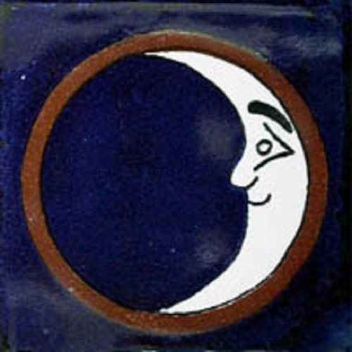 mexican tile Moon