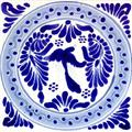 handmade talavera tile Beautiful Bird