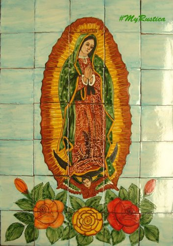 Kitchen Tile Mural Quot Virgin Mary Of Guadalupe Quot Mexican