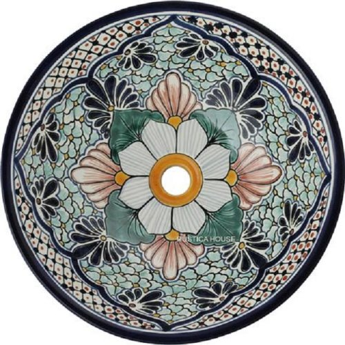 moorish talavera bathroom sink