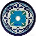 handcrafted talavera bathroom sink