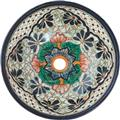 handcrafted artisan talavera bathroom sink