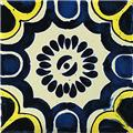 hand painted talavera tile ingrid