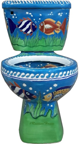 mexican toilet fish