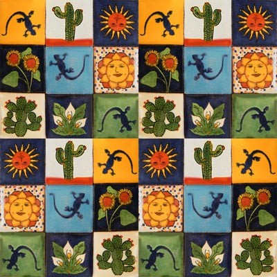 Mexican Tile Themes