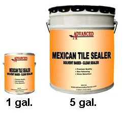 cleaning mexican tiles after installation
