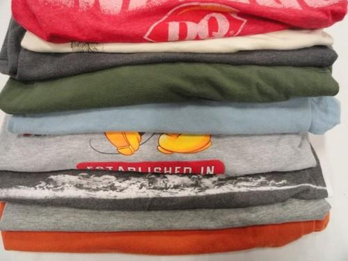 Great Lot of 9 Mens Graphic T Shirts SIZE 2X XXL DISNEYLAND  And Others