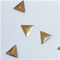 Gold Triangles 6mm 3