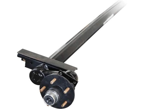 Upgrade from Single 2,990# Leaf Spring to 3,500# Torsion Axle w/ Brakes