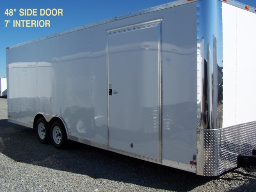 "Add additional 48"" Side Door W/Flush Lock"