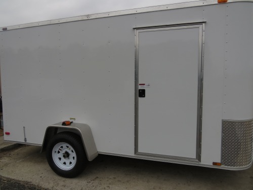 "Add additional 32"" Side Door W/Flush Lock"