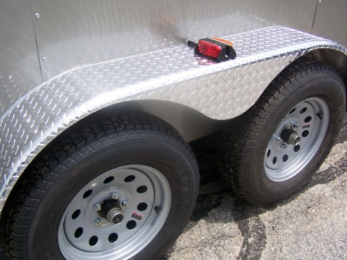 Upgrade to ATP Fenders (Tandem Axle 6', 7' Wide Only)