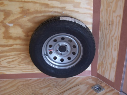 Tire Mount For Spare Tire Interior Or Exterior Diamond