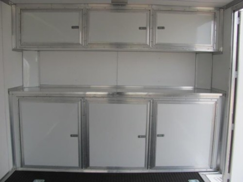 Base/Upper Cabinet For 8.5u0027 Wide Trailers