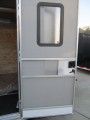"Upgrade Side Door to 48"" x 78"" RV Style Door with Window/Screen"