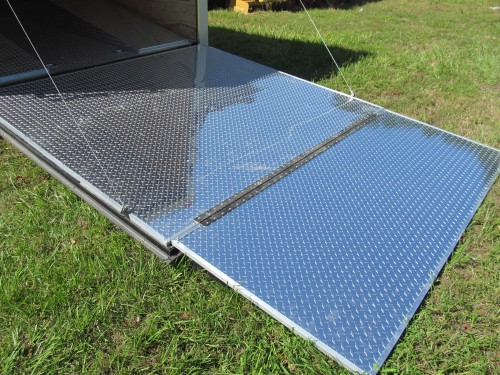 "Dragster Ramp (48"" Flap Extension with 3 Bumpers) Includes Double Spring Assist on Ramp"