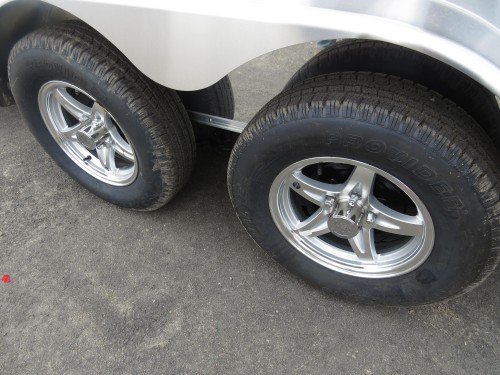 Upgrade all 4 Tires to Star Mag Radial 235 (for 7000# Axles)