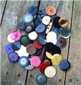 Antique Vintage Large Mixed Button Lot 1 1/2