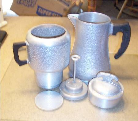 Guardian Service Ware  Aluminum Cookware Percolator Coffee Pot Lid gs13
