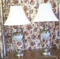 matching pair Table Lamps Nickle Dual Lighting 1.jpeg