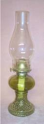 vintage Green Hobnail Oil Lamp.jpeg