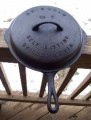 Griswold #7 9 Cast Iron Skillet w cover lid g1015.jpeg