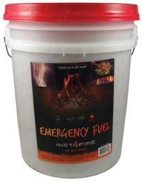InstaFire 5 Gallon Bucket - Prepper - Emergency Kit - Camping - Briquette_Img