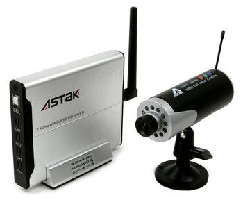 Hi-Resolution Wireless Color Security Camera System
