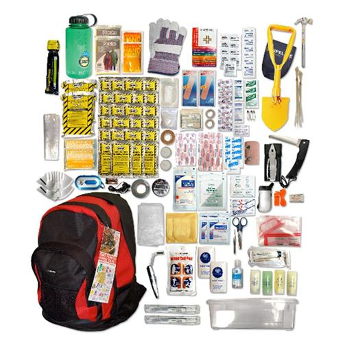 Emergency Preparedness Backpack Kit 183 pc