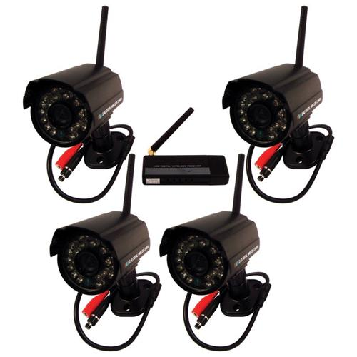 Digital Wireless Surveillance Camera Security System