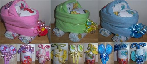Sesame Street Baby Shower Favors Bassinet Lollipop Butterfly Cup