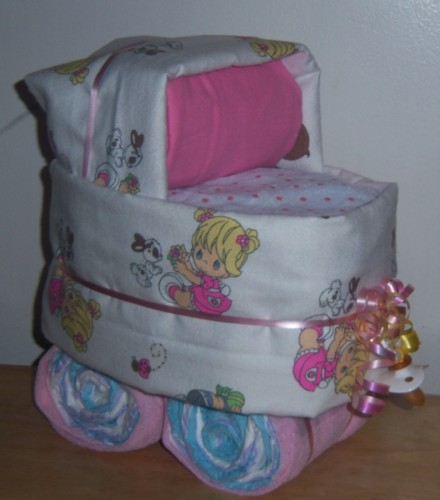 Baby Shower Precious Moments Diaper Bassinet