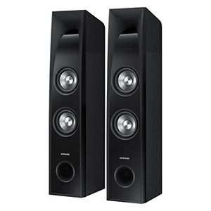 samsung home theater system. samsung home theater system 2.2 ch 350 watt sound tower speakers w/ built-in 6\