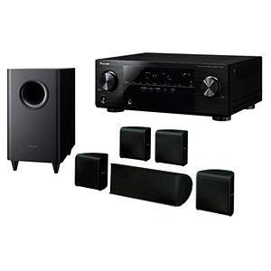 pioneer 5 1 home theater system. pioneer 5.1 home theater w/ belkin bluetooth receiver htp-071bt 5 1 system e