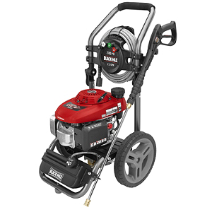 Black Max 2800 PSI Gasoline Pressure Washer Powered by Honda