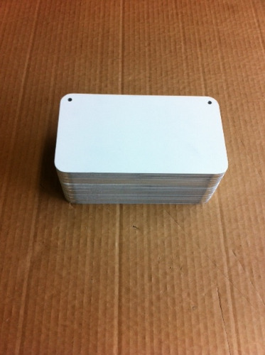 photo 1-24x7 License plate with Rounded  Holes