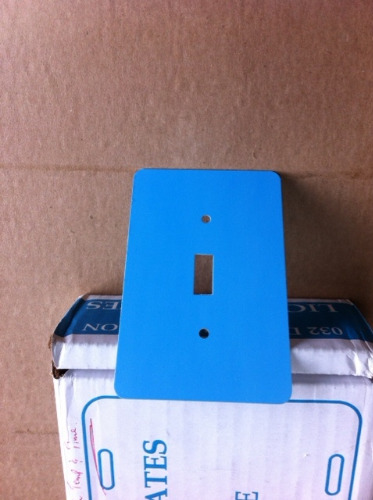 photo 2-2 Sublimatio Electrical Switch Cover 3.25x5