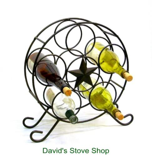 Texas Star Wine Rack - Davids E Stove Shop 0b358ae1b798