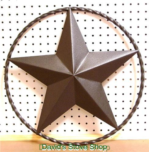 18 Metal Art Texas Star Western Ranch Decor Powder Coated Steel