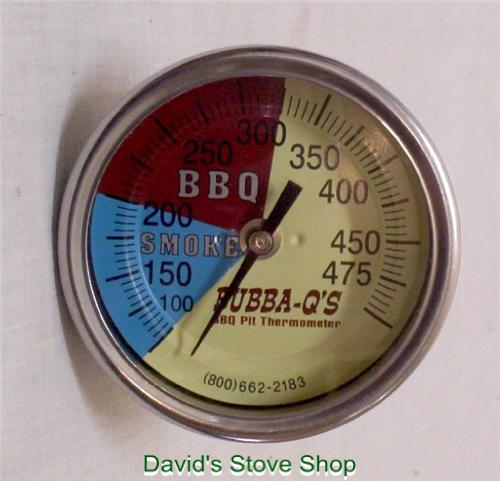 Stainless Steel Bbq Pit Smoker Amp Grill Thermometer Temperature Gauge 3 Quot Face Davids E Stove Shop